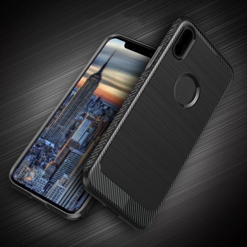 Phone case para iphone x 5.8 '' polegadas tampa traseira de luxo casos de proteção dura de alta qualidade
