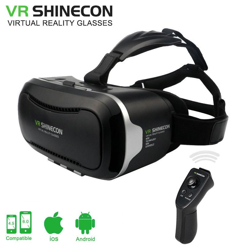 abb935cedc7 VR Shinecon 2.0 Google Cardboard VR BOX 2.0 Virtual Reality Goggles 3D  Glasses Immersive For 4.5 6.0 Inch Smartphones 3d Glasses Cinema 3d Glasses  Free From ...