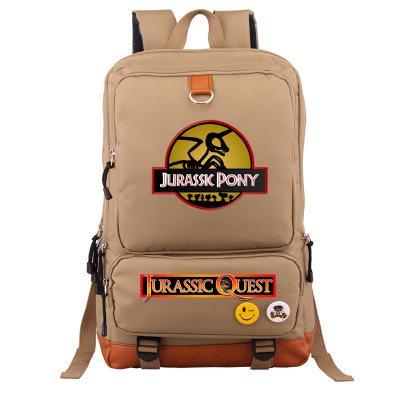 fe2181888d Jurassic Park Jurassic World Dinosaur Student Bookbag Casual ...