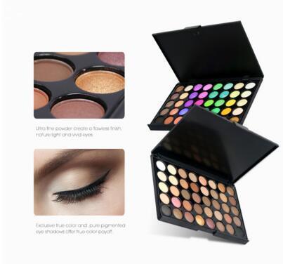 Eye Shadow Just Matte Eye Shadow Pallete Make Up Earth Palette Makeup Glitter Waterproof Lasting Makeup Easy To Wear 40 Color