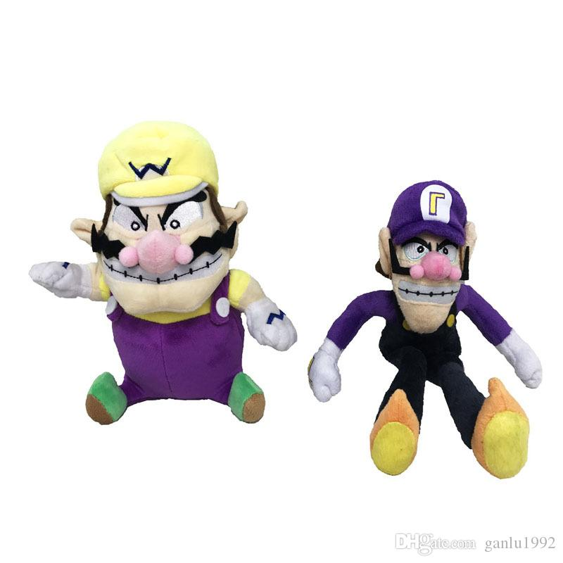 Hot Sale Super Mario Bros Soft Fun Anime Plush Doll Toys Holiday Best Gift For Children Collect Toy 21mk2 W