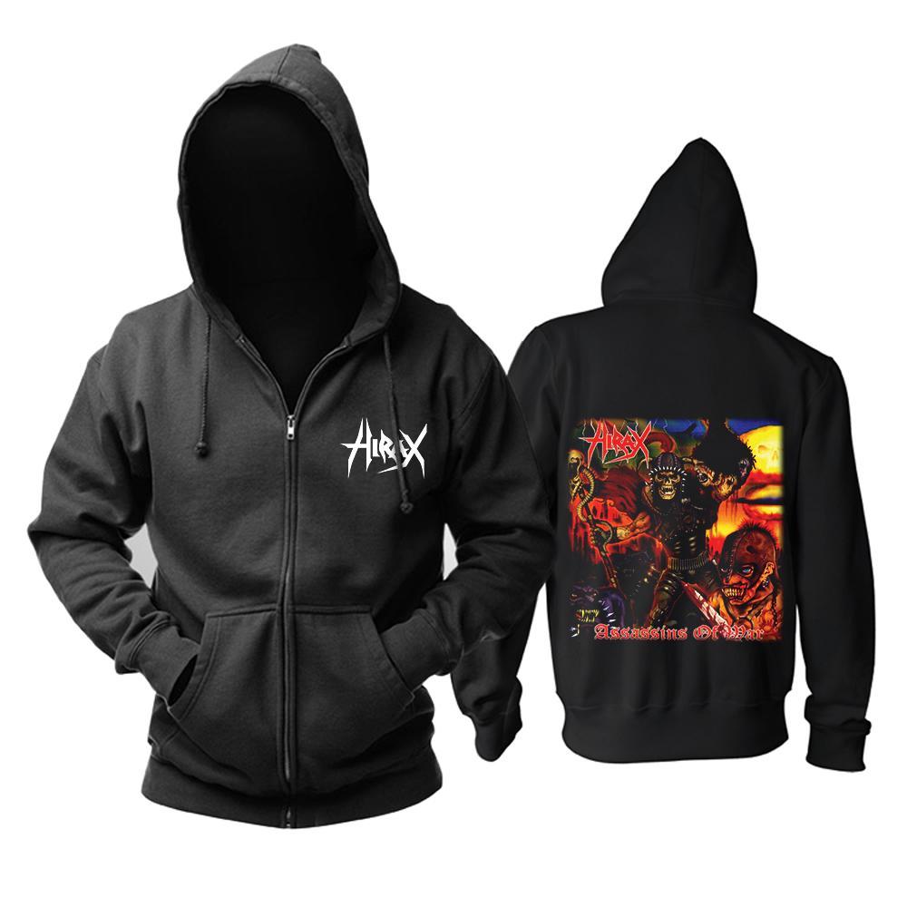24786b979 Livraison gratuite Hirax Thrash Metal vitesse Crossover Music Black 100%  coton nouveau top à capuche