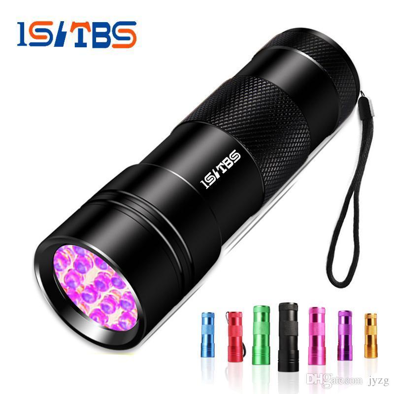 Uv 12 Torche Ultra Lumière Rétro Mini Poche Violet Flash Lampe Leds De Linternas Ultraviolet Led Protable Éclairage N0wmn8