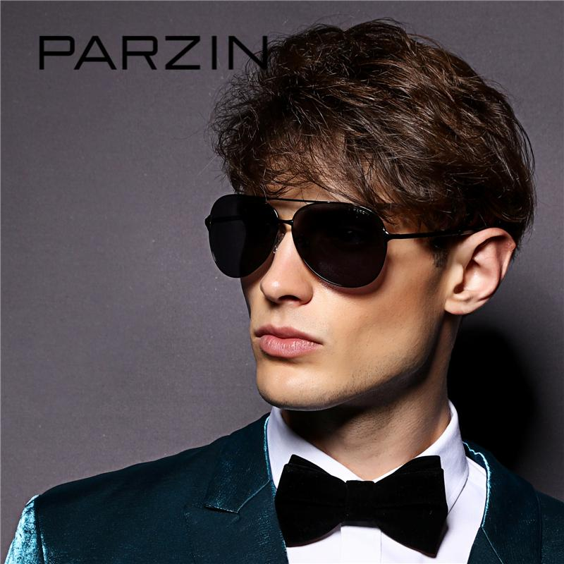 Wholesale-PARZIN Classic Alloy Frame Sunglasses For Men Quality Polarized  Glasses For Driving Lunette De Soleil Eyewear Male 8009 Sunglasses Quality  ... e30093ad7bc8