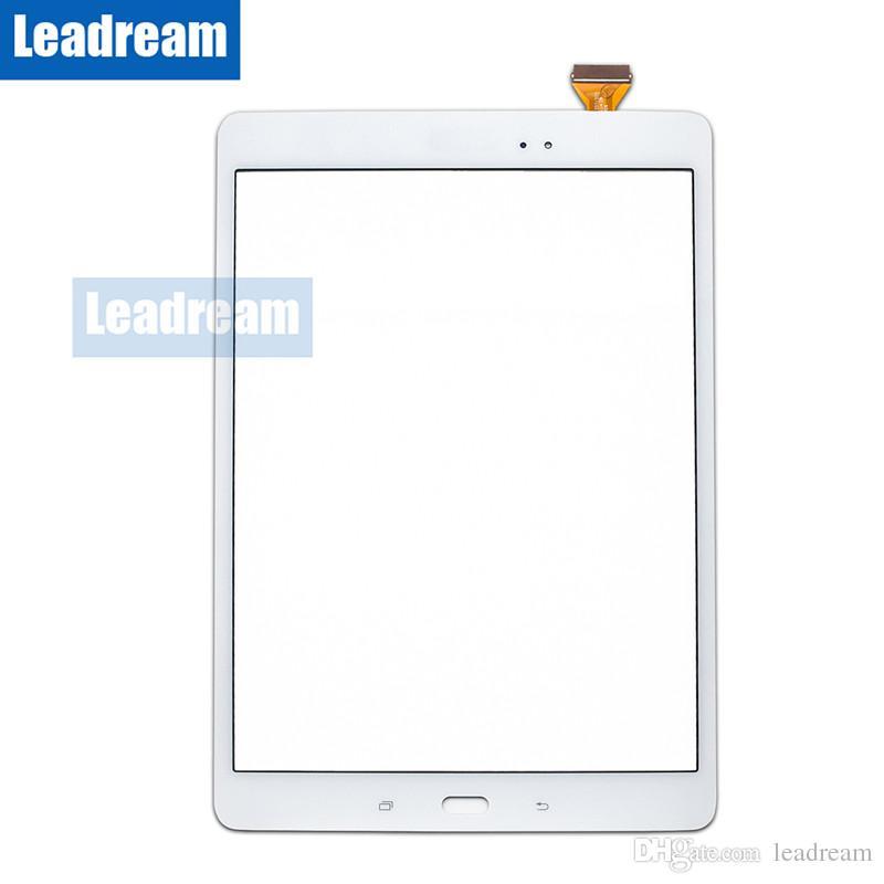 Планшетный ПК сенсорный экран Digitizer стекло объектива с лентой для Samsung Galaxy Tab A 9.7 T550 Free DHL