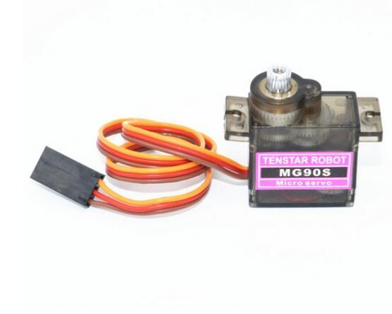 MG90S 14g Metal Gear Digital Micro Servos for 450 RC Helicopter Airplane Boat Car WAVGAT