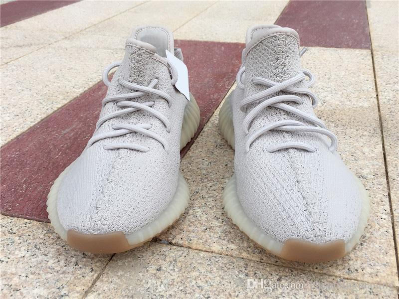big sale 5ef32 2643d 2018 350 V2 Sesame F99710 Butter Ice Yellow Beluga 2.0 Authentic Quality  Real Outdoor Sports Shoes Kanye West Cushioned Sole Running Shoes