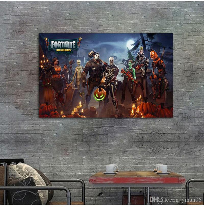 Fortnite Battle Royale Game Poster Wall Painting Posters And Prints