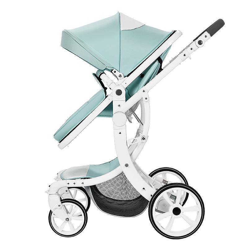 95adba5270f3 Baby Stroller 3 In 1 High Landscape Baby Stroller Newborn Car Seat Cradle  Carriage Travel System Car Seat