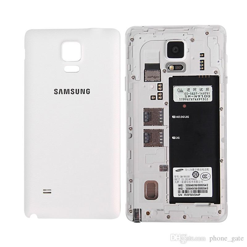 تم تجديده الأصلي سامسونج غالاكسي ملاحظة 4 Note4 N910F N910A N910T 5.7 بوصة رباعية النواة 3GB RAM 32GB ROM 16MP 4G LTE الهاتف الذكي