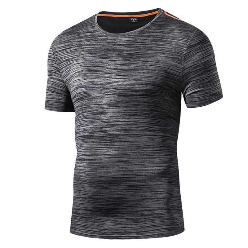 a20a216ddbf2 2019 2018 Summer Mens Quick Dry Leisure Sport Camping Running T Shirt  Outdoor Fishing Hiking T Shirt Men O Neck Short Sleeve T Shirts From Neyei