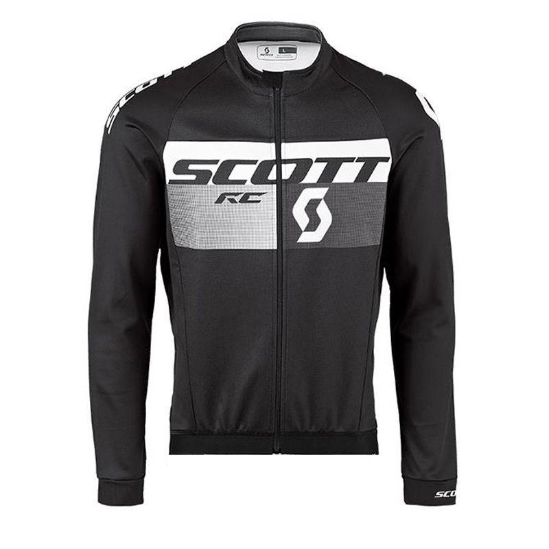 Herren SCOTT Radtrikot MTB Bike Shirt Fahrradbekleidung ropa ciclismo hombre atmungsaktiv schnell trocknend Langarm-Rennoberteile F0902