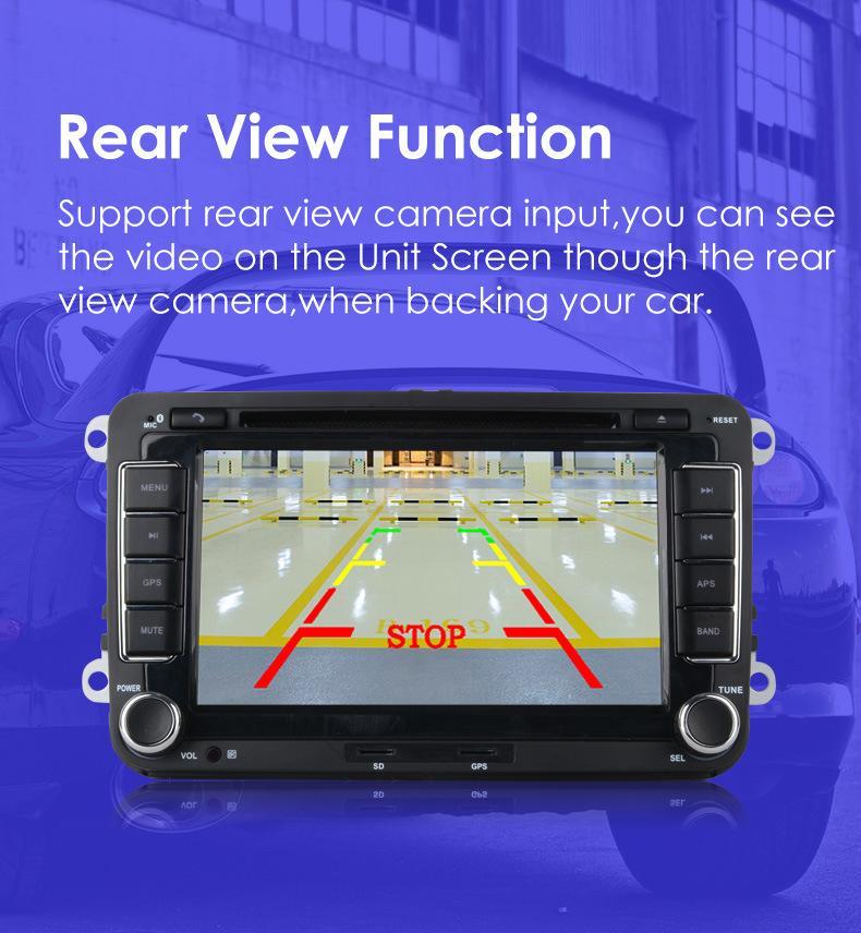 7 дюймов 2 Din автомобильный DVD GPS навигация радио стерео плеер для Volkswagen VW Golf 6 Touran Passat B7 Sharan Touran Polo Tiguan