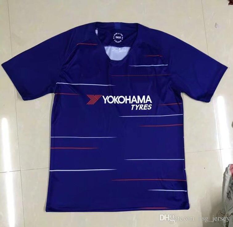 Thailand Chelsea 2018 2019 MORATA Soccer Jersey Hazard BAKAYOKO ... e5e73eb2f8ca6