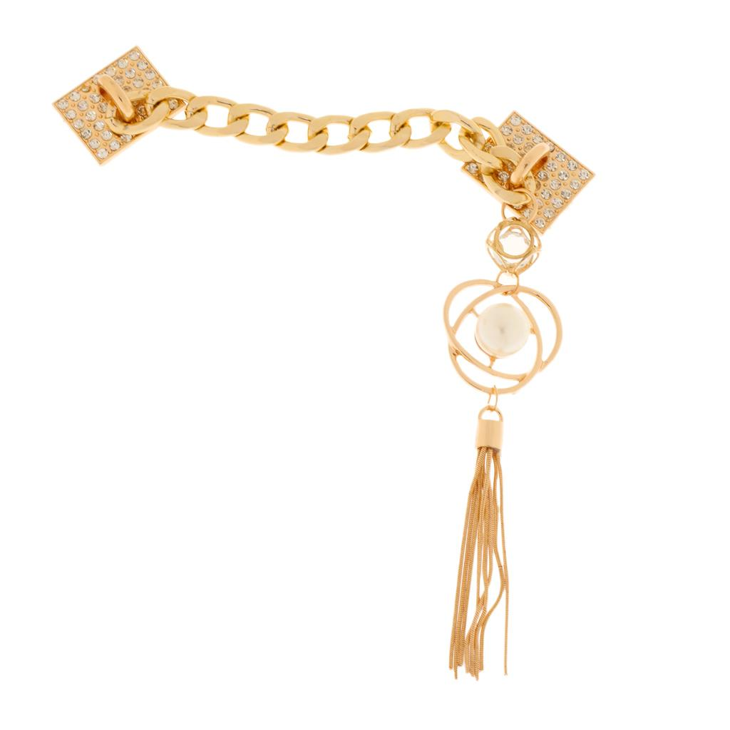 sale retailer e26cb 3922f Lovoski Phone Case Charms Decoration Tassel Bracelet Chain Holder 25 cm  Pearl