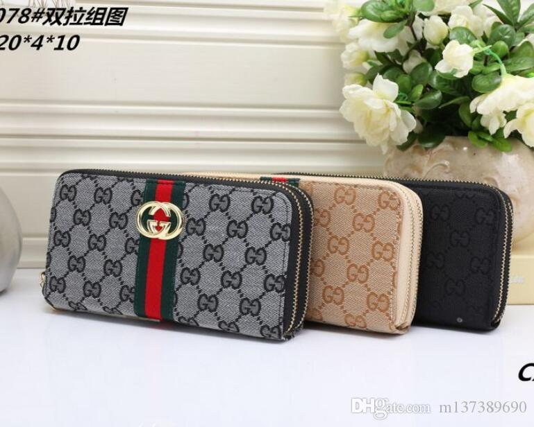 f6eb8596fcfd Europe And The United States Luxury Brand Wallets Fashion Long ...