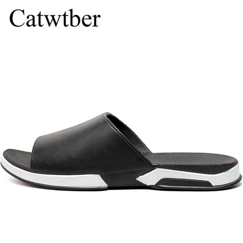 01c7bd1aca59a0 Catwtber Unisex Summer Outdoor Breathable Slippers Slippers Male Beach Flats  Slides Men Slippers Flip Flops Zapatillas De Hombre Online with  41.72 Pair  on ...