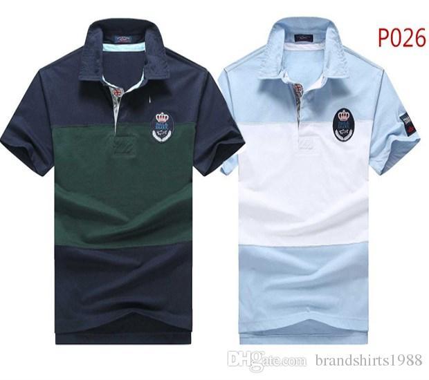 New Paul Shark Yachting Polo Shirts 2018 Italian Brand Men'S Fashion Summer T  Shirt #p026 Italy Tops Business Casual Tees Design And Buy T Shirts Tee  Shirt ...