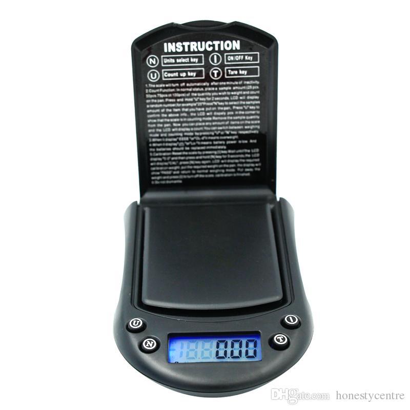 500 г 0.1 г Мини Электронный Цифровой Карманный Вес Ювелирные Изделия Diomand Баланс шкала ЖК-Дисплей