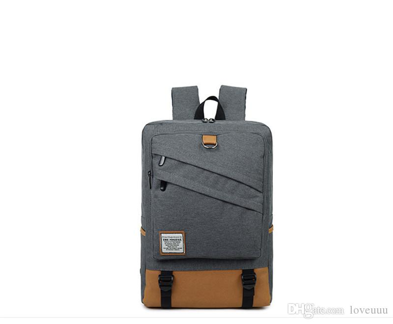 96c3127dc4 Fashion Men And Women Laptop Backpack 15.6 17 Inch Rucksack SchooL ...