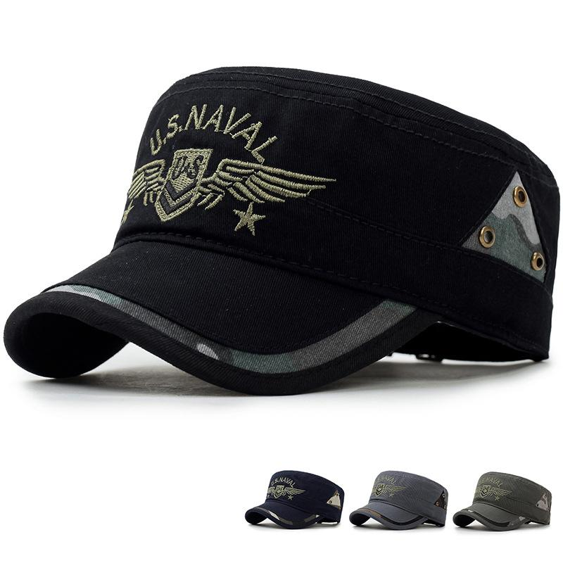8d28104d5d6 Men s Cap Militar Tactical Army SWAT Snapback Hat Summer Fashion Casual  Adjustable Flat Caps Outdoor Hunter Hiking Baseball Caps Custom Baseball  Hats Army ...