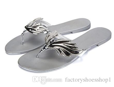 0a8276968 2018 Silver Flame Leaves Design Flip Flop Women Summer Outdoor Beach  Vacation Fashion Light Slippers Casual Flats Pantoufles Shoes Comfortable  Shoes ...