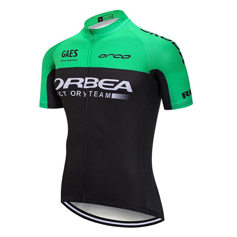 2018 TEAM ORBEA Cycling Jersey SHORT SLEEVES PRO Bike Shirts Ropa Ciclismo  Mens Summer Breathable BICYCLING Top Maillot Cycling Jacket Waterproof  Cycling ... 1daeb3950