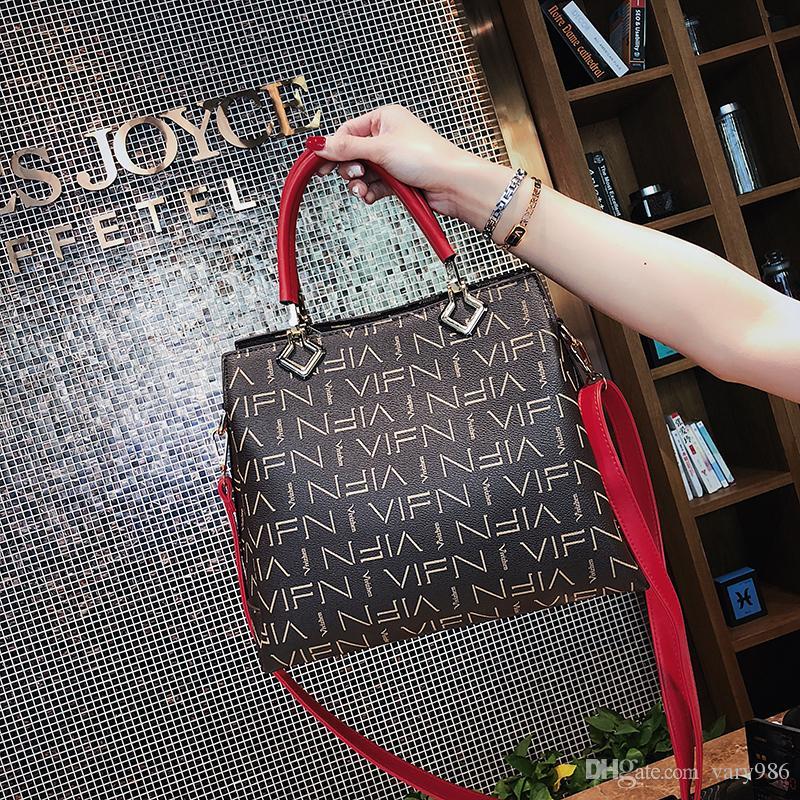 939dce045e 4 Famous Luxury Brand Women Handbag Women Messenger Bags Black ...