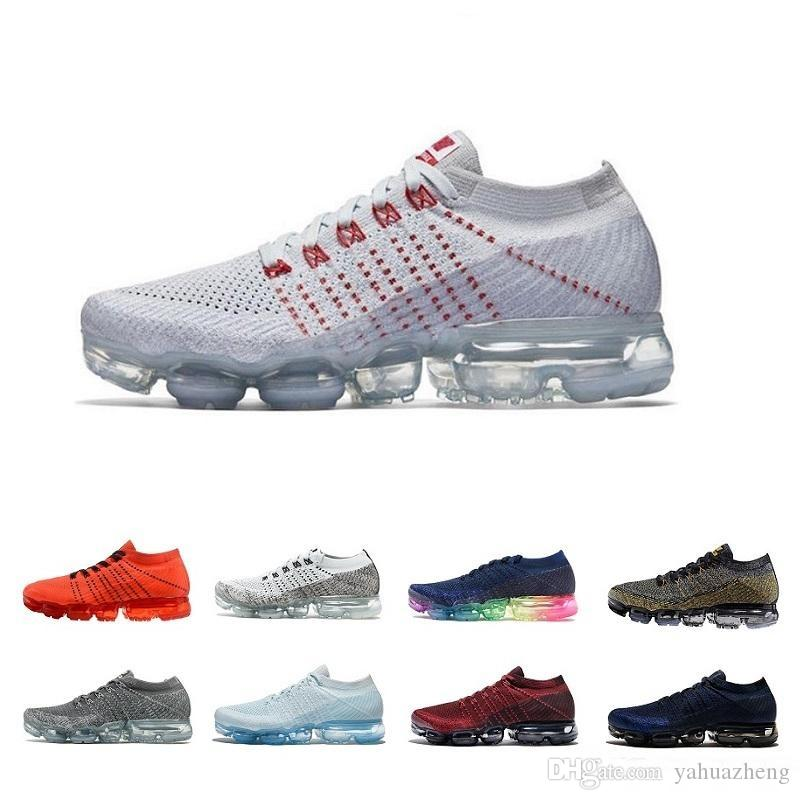 professional cheap online discount high quality Drop shipping 2018 Vapormax Flagship Casual Shoes White Men Women Vapormaxs Fast Furious runner trainers off shoes Sneakers Size 36-45 ebay cheap online WoF5Q8SVp