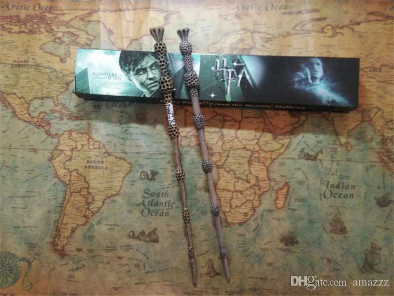 Harry Potter Wand Magic Props Hogwarts Harry Potter Series Magic Wand Harry Potter Magical Wand with Box 32 styles