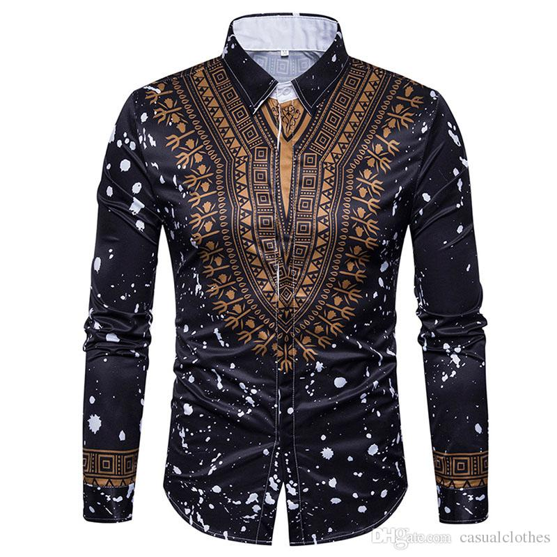 Men's Casual Shirts fashion mens clothing 5size cotton blend material breathable comfortable 2018new high-quality hot-selling shirts