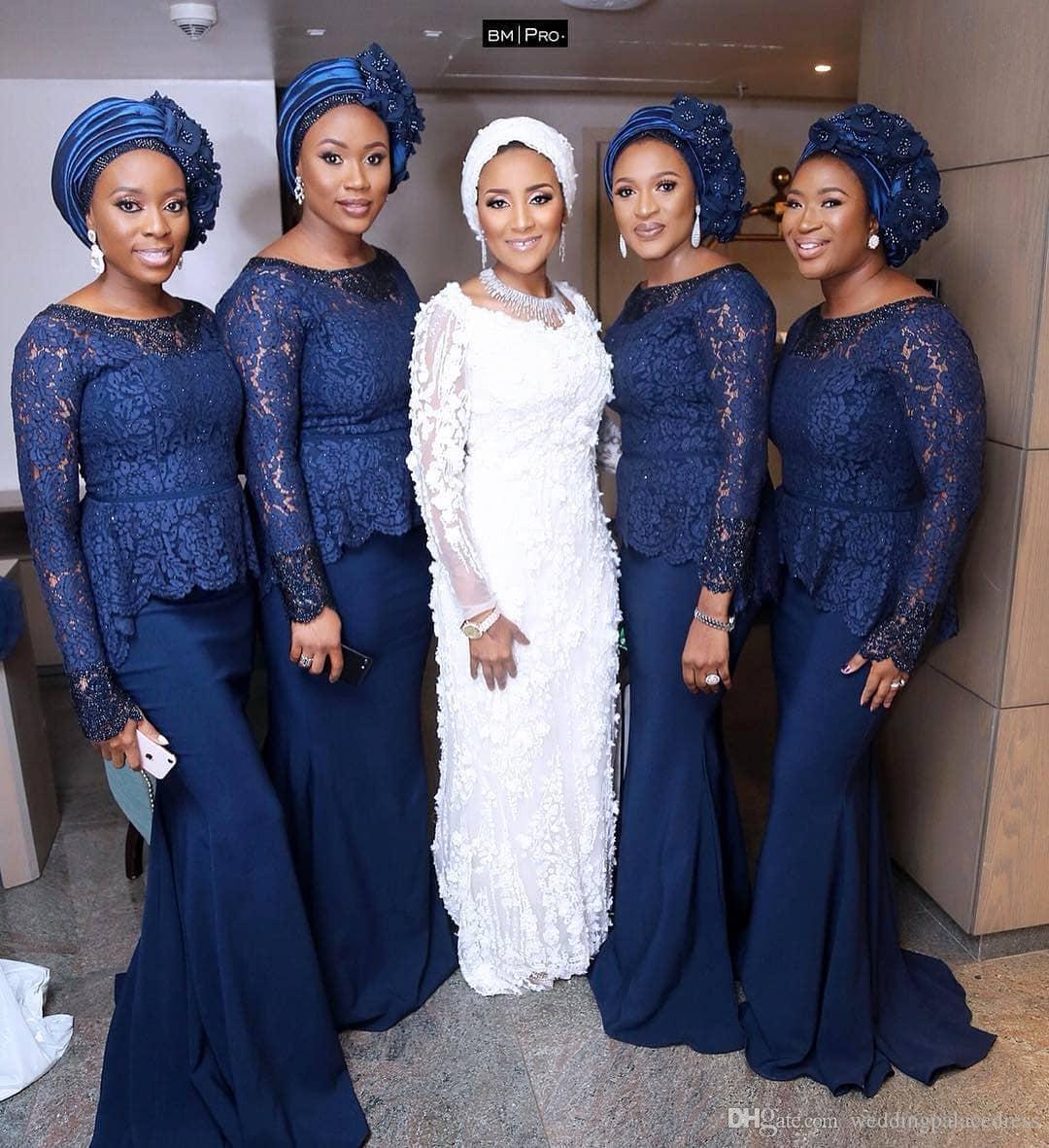 6873c608e28d Dark Blue Sparkly Bridesmaid Dress - raveitsafe