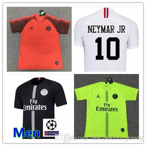 Psg Maillot Black White 3rd Soccer Jerseys 2018 2019 Maillot De Foot MBAPPE  CAVANI BUFFON Jersey 18 19 Football Kits Soccer Shirt UK 2019 From ... 4be9032f7