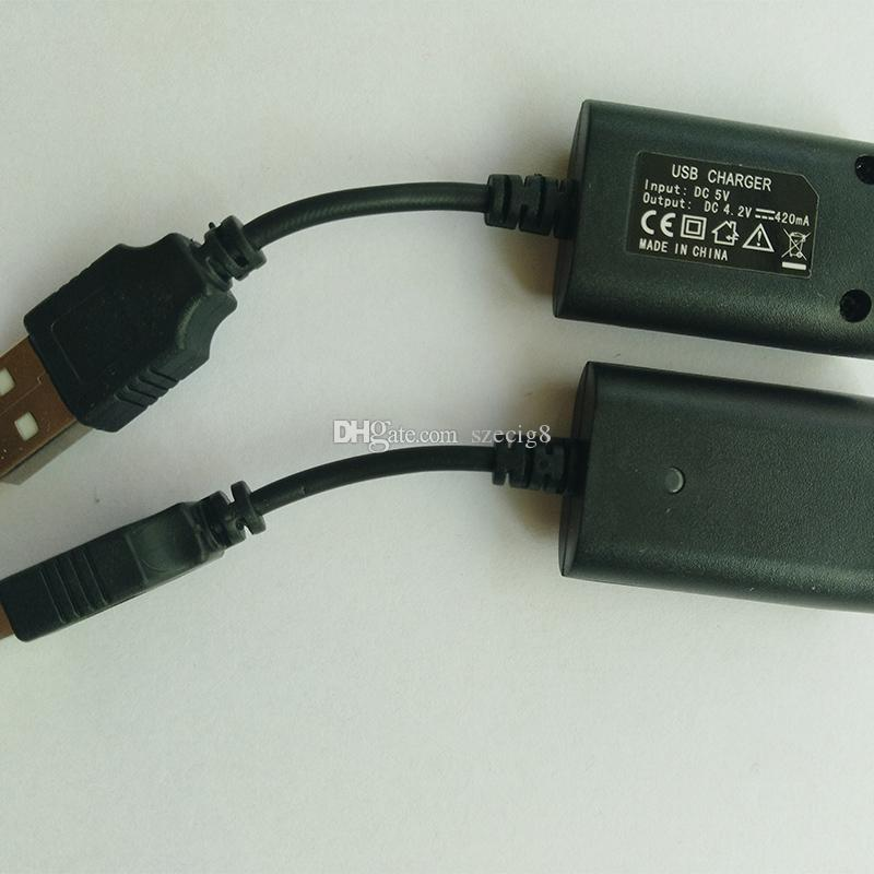 Wholesales EGO USB charger long short cable charger with IC 1053 protection red green led for EGO ego-T ego-Q EVOD Twist