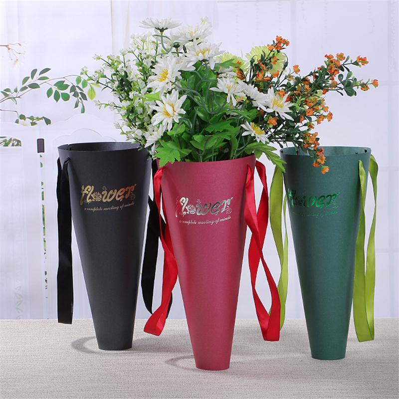 Acheter Papier Sac Pour Fleurs Boite Emballage Bouquet De Fleurs