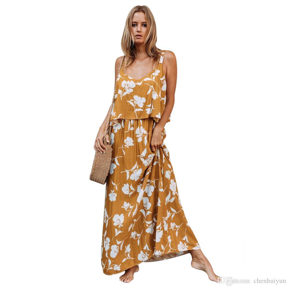 Floral Maxi Dress Wholesale