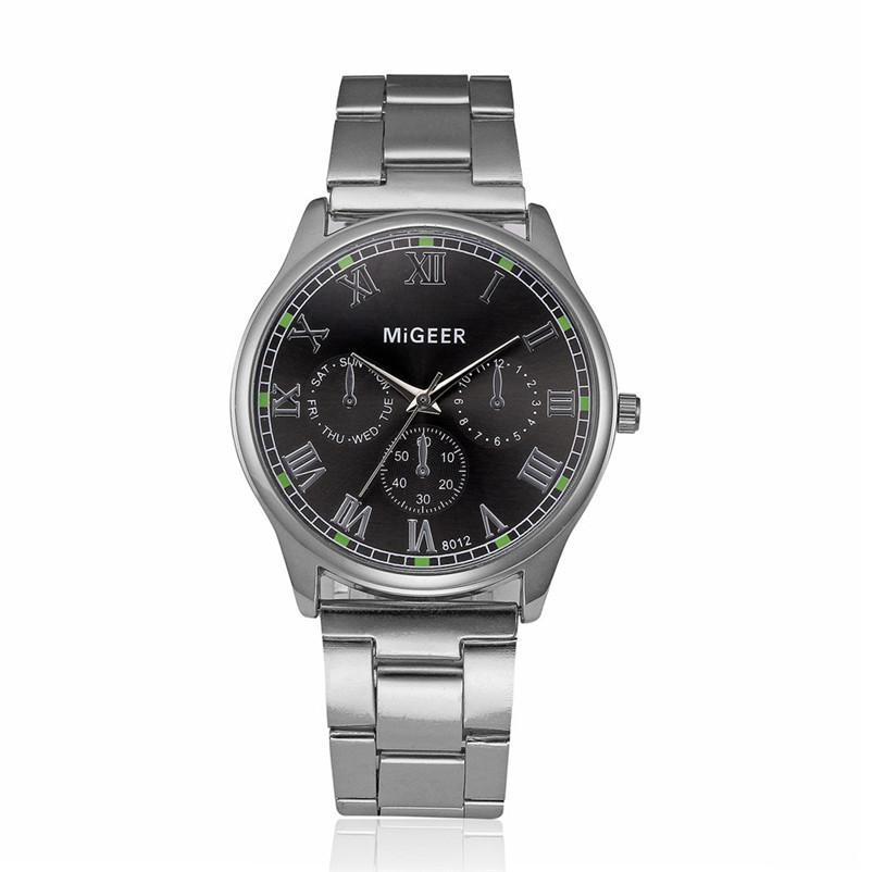 7667d9821a0e Compre Nueva Chic Relojes Para Hombre De Primeras Marcas De Lujo De Moda De  Acero Inoxidable Reloj De Pulsera De Cuarzo Reloj Masculino Relogio  Masculino ...