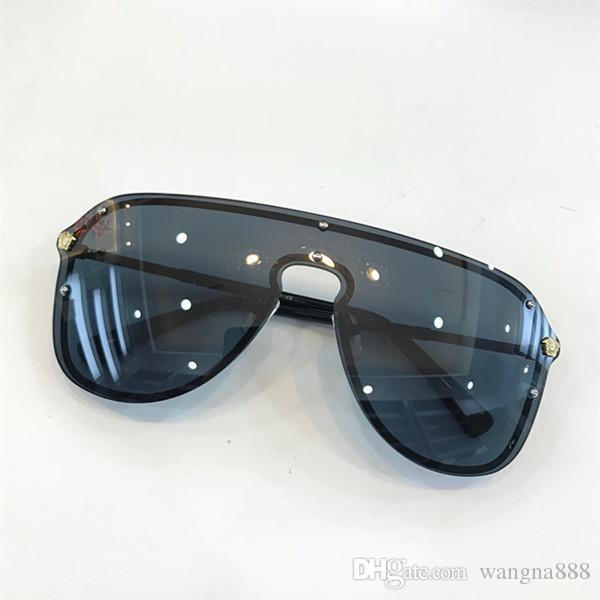 3555f8d456 Compre 2180 Gafas De Sol Sin Montura Lente De Conexión UV400 Hombres  Mujeres Marca Diseñador Revestimiento Mirrorr Lens Steampunk Summer Style  Comw Con ...
