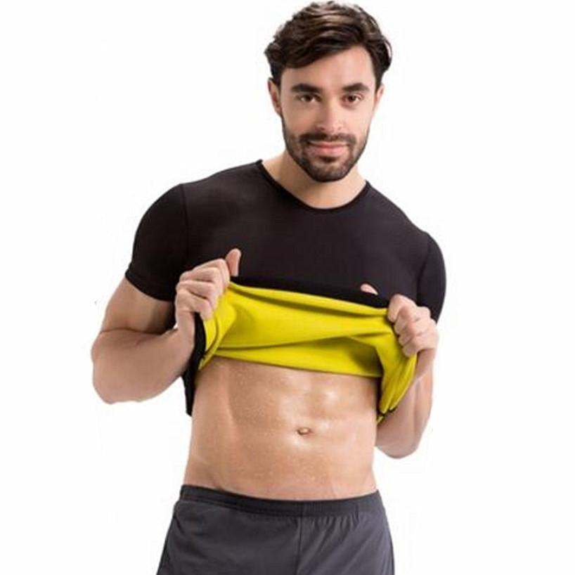 9d573ea0cf71a Men Body Shaper T Shirt Tank Top Slimming Compression Undershirts Hot Shapers  Slimming Shirt Hot Thermal Waist Trainer Shapewear UK 2019 From Vikey06