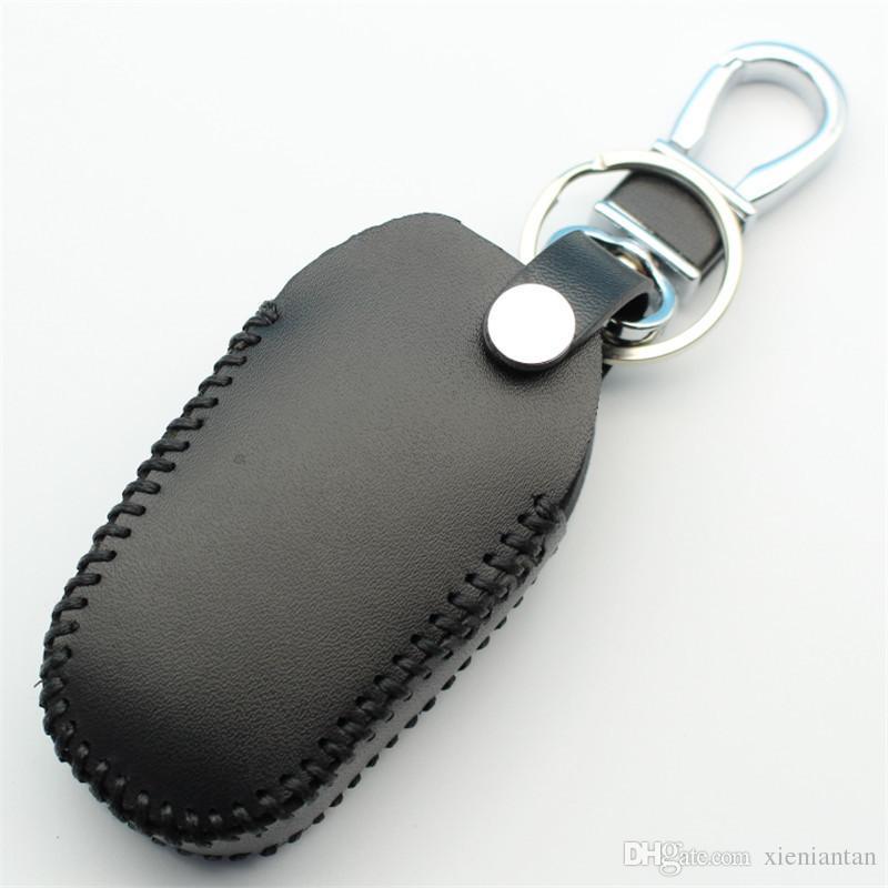 Echtes Leder Smart Remote Key Case für Citroen C4L / DS5 / DS6 / DS5LS / C3XR / DS4 / DS3