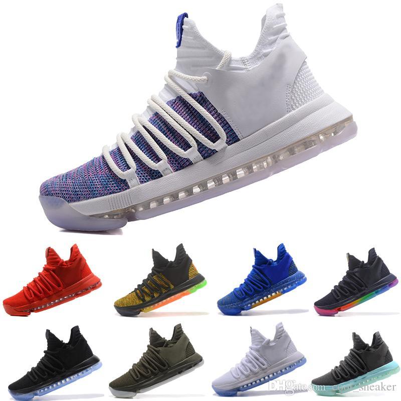 free shipping fdb64 ee04e Compre Sapatilhas De Basquete Nike Air KD BHM Kevin Durant 10 X Mens De  Cool sneaker,  96.32   Pt.Dhgate.Com