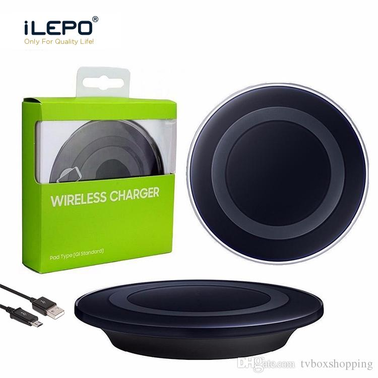 QI Fast Wireless Charger Portable Quick Charger With Smart Fast Chip For Charging Samsung S8 S6 Note Iphone X 8 Qi-enabled Smart Phones