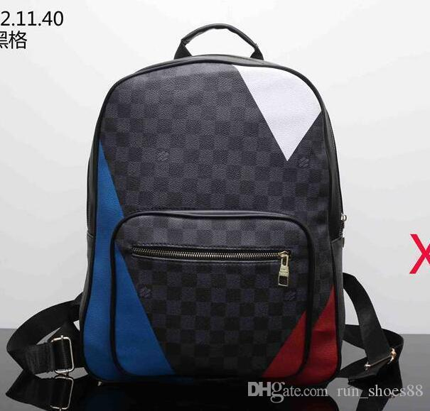 Hot Sale Famous Top Quality Europe Designer Brand N41612 Damier Cobal Mens  Backpacks High Quality School Bag Classic Style Pink Backpacks Daypack From  ... dd9a1f2fa8a21