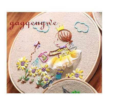 Gagqeuywe Beginner Chinese Diy Hand Embroidery Three Dimensional