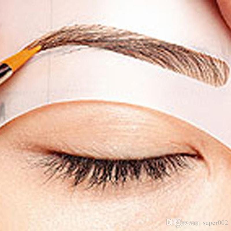 Magic Eyebrow Stencil Makeup Styles A Stencil For The Eye Brow