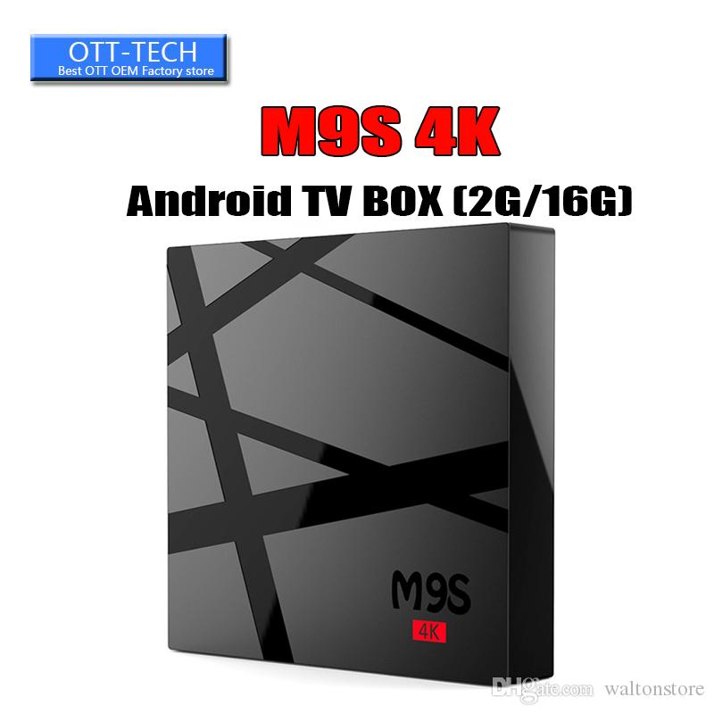 2GB+16GB m9s tv box android 6.0 built-in rk3229 quad core Exodus 4K UHD center media player