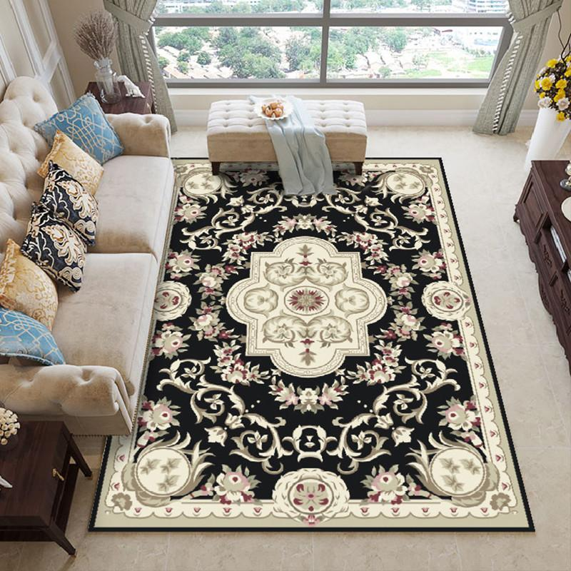 Lieblich Großhandel Europäischen Printed Style Teppiche Für Wohnzimmer Große Teppiche  Für Schlafzimmer Arbeitszimmer Fußmatten Couchtisch Sofa Teppich Teppich  Von ...