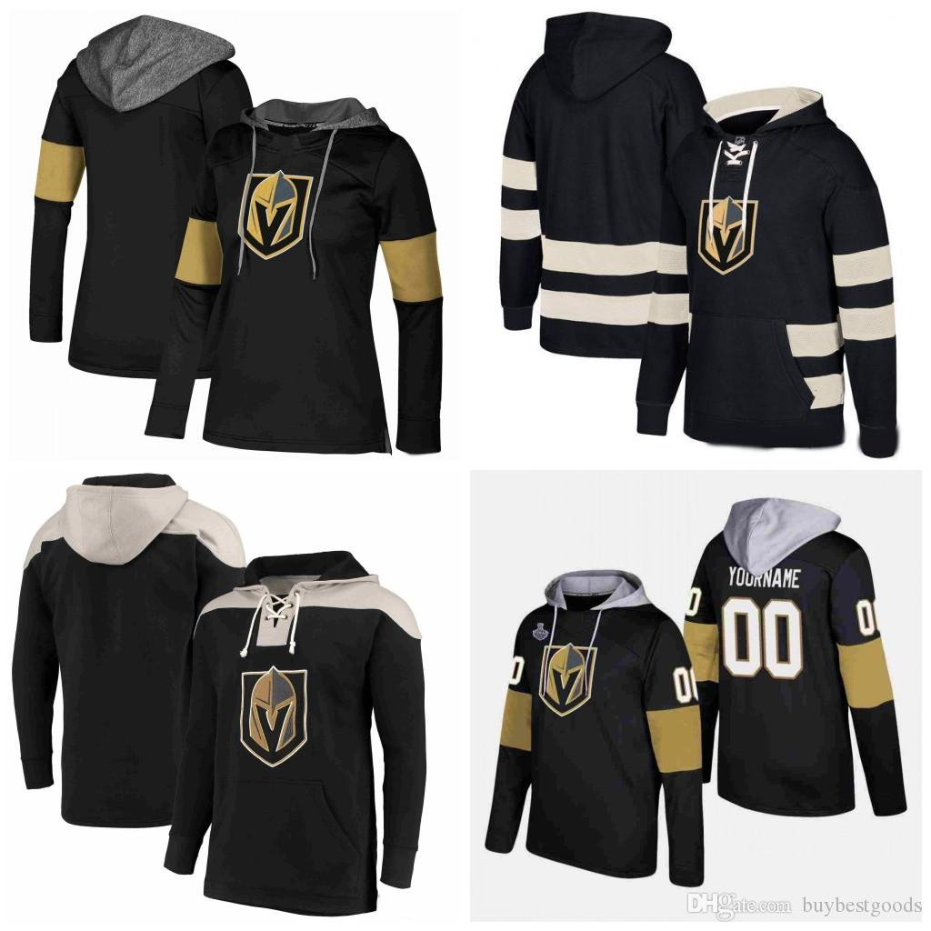 info for 66969 df105 Custom Vegas Golden Knights Hoodies Jerseys James Neal Marc-Andre Fleury  Erik Haula David Perron William Karlsson Hockey Hooded Sweatshirt