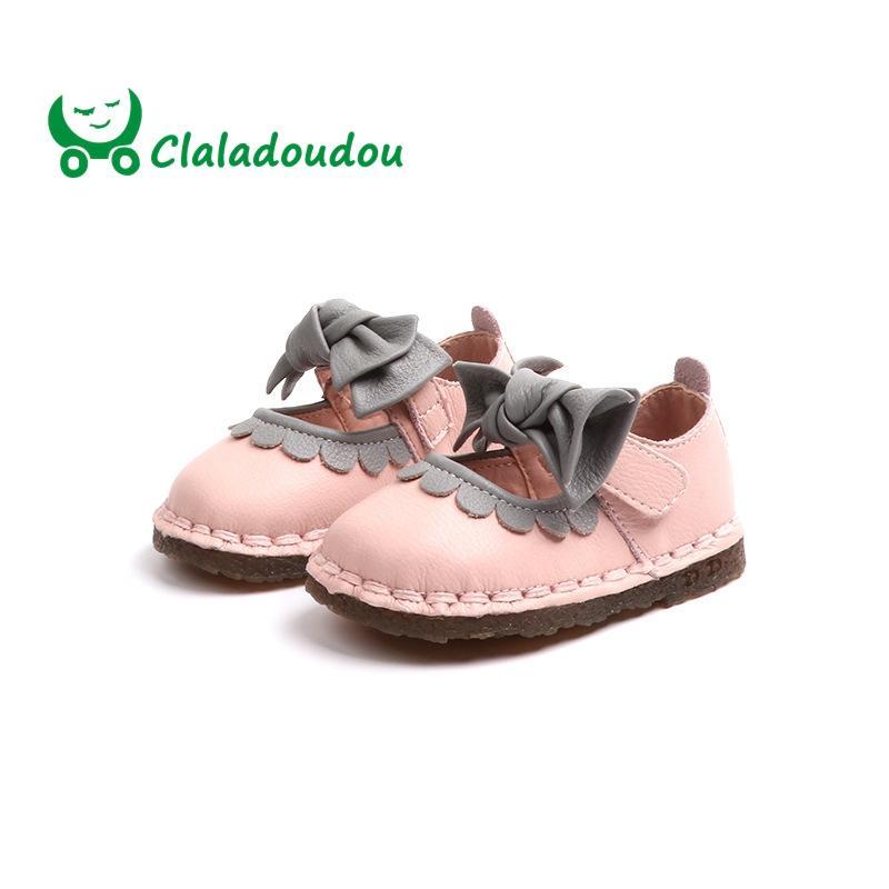 12 Niña Genuino Zapatos Claladoudou De Infantil Compre Cuero De 14CM Wq65p8X