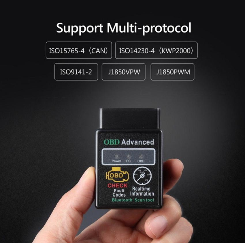 ELM327 Bluetooth OBD-Scan-Werkzeug Vgate Super-OBD-Scan mini elm327 Bluetooth OBDII OBD2 Selbstdiagnose intercace V1.5 Version 1.5 GGA71